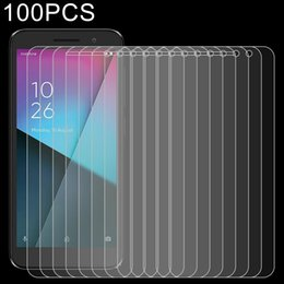 vodafone smart UK - 100 PCS 0.26mm 9H 2.5D Explosion-proof Tempered Glass Film for Vodafone Smart E9