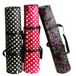 waterproof backpack yoga bag Sport Yoga Mat Bag Waterproof yogo Mat Carrying Pack Zippered Mat Storage Bag with Phone Pocket on Sale