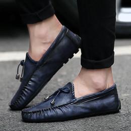 Massage Hot Man Australia - Head Business Male Dress Leather Shoes Leather Casual Shoes Men Fashion Hot Selling Men