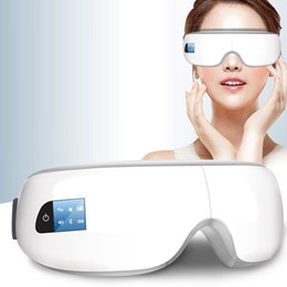 Massage Mask online shopping - Bew Electric Eye Massager Mask Migraine Forehead Eye Care Massage Health Care Tools Bluetooth Music Eye Relax