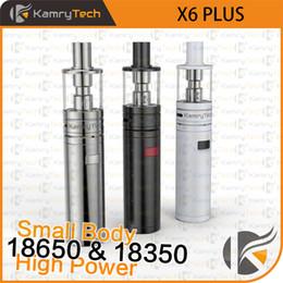 Ego Battery Vape Australia - Electronic Cigarette Kamry X6 Plus kit Vape Pen Vaporizer E-Cigarette Hookah 18650 18350 Battery Mod VS iJust S EGO AIO X1091