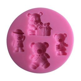 $enCountryForm.capitalKeyWord UK - HIGH Quality liquid Cute Bear Shaped Chocolate fondand Candy Jello 3D siolicone Mold Mould Cartoon cake decoration