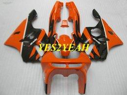 $enCountryForm.capitalKeyWord Australia - Fairing body kit for KAWASAKI Ninja ZX6R 636 94 95 96 97 ZX 6R 1994 1997 Orange black Fairings bodywork+Gifts KS10