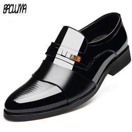 Vestir Traje De Zapatos Para Hombre Online Negro 2HIWED9