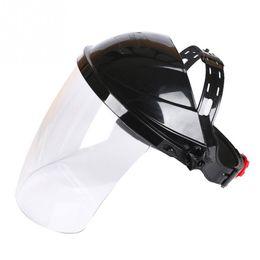 Weld Mask Darkening Australia - Transparent Welding Tool Welders Headset Wear Protection Masks Auto Darkening Welding Helmets Face Mask Electric Welding Mask