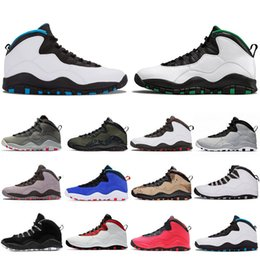 summer mens golf shoes NZ - New Arrival Seattle 10 10s mens basketball shoes Ember Glow Desert Camo Tinker Westbrook Cement Steel Grey Chicago Trainers sports sneakers