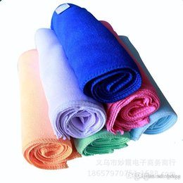 Instant Hair Australia - 30*70cm Solid Color Microfiber IceTowel Multi-use Enduring Instant Cooling Towel Heat Relief Reusable Cold Towel 6 colors