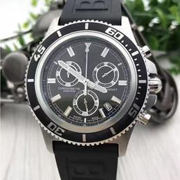 $enCountryForm.capitalKeyWord NZ - Brand New Superocean Heritage Chronograph Quartz Watch Avengers 44mm Black Dial Mens Watches Men Dress Wristwatches Orologio di lusso