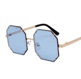$enCountryForm.capitalKeyWord Australia - Retro Sunglasses Women Design Sun Glasses For Lady Fashion Alloy Mirror Female Oculos De Sol Black Sun Glasses Eyewear Glass Lenses 2019 New
