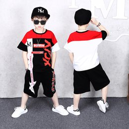 Wholesale Baby Boys Clothing Set Summer Cotton Children Kids Clothes Boys years Children Suit Clothing Sets
