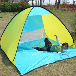 $enCountryForm.capitalKeyWord Australia - Wholesale-Outdoor 2 fully automatic beach tent fast open sun shading double beach tent super light picnic waterproof fishing out203