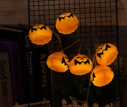 Access Control Kits Modest Halloween Pumpkin String Lights Solar Led String Lamps Holiday Party Decoration Lights For Courtyards,shop Windows,stores,trees Security & Protection