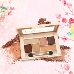 $enCountryForm.capitalKeyWord Australia - Makeup Eye Shadow Soft Glitter Shimmering Colors Makeup Party Palette Shimmer Set 6 Colors Eyeshadow Women Make Up Cosmetic