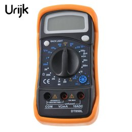 intelligent tester Australia - Urijk DT830B  DT850L Multimeters Handheld Tester Intelligent Auto Ranging Digital Multimetro with Test Lead Large Lcd Display