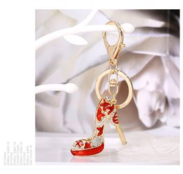 acrylic photo key chains Australia - 2019 Shoes Keychain Purse Pendant Bags Cars Shoe Ring Holder Chains Key Rings For Women Gifts Women acrylic High Heeled