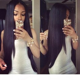 26 7a grade hair UK - Grade 7A Human Hair Wigs Brazilian Full Lace Wigs 130 Density Glueless Lace Front Wigs Natural Hairline With Baby Hair DHL Free Shipment