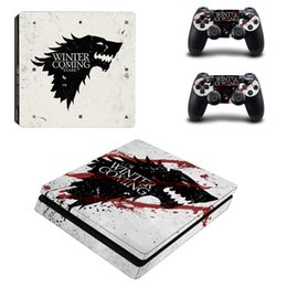 Playstation console skins online shopping - Fanstore Skins Sticker Decorative Vinyl Decal Wrap Cover for Playstation PS4 Slim Console and Remote Controll Cool Design