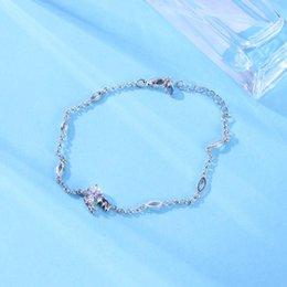 $enCountryForm.capitalKeyWord Australia - 1PC 925 Sterling Silver Bracelet Chic Fashion Adjustable Stylish Simple Cancer 12 Constellation Bracelet Statement Jewelry Hand