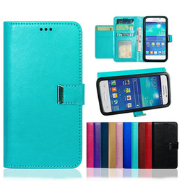 hybrid flip leather case iphone UK - Universal Rich Diary Hybrid Wallet PU Flip Leather Case Card Slot For 3.5 To 6.0 inch Mobile Phone iPhone 11 Pro Samsung Huawei XiaoMi MOTO