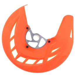ktm front UK - 1 Piece Orange Motorcycle Front Disc Brake Cover For KTM 125 150 250 300 450