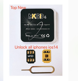 unlock cable card NZ - MKSD 4 3M Adhesive glue Sticker ICCID Unlock sim For iOS 14 13.5.1 lte 4G iPhone 5s  SE2 6 7 8 X XS XR XS Max 11 Pro Max USIM vsim GEVEY Pro