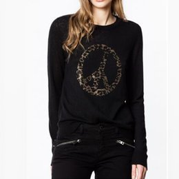 $enCountryForm.capitalKeyWord Australia - Women Sweater 2019 Autumn and Winter Steering Wheel Hot Drilling Mature Fashion Pure Cashmere Sweater Women