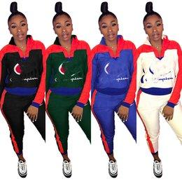 58d8f25e816096 Women s casual letter printing sportswear shirt autumn and winter clothing  sportswear fashion design women s 2018 hot sale