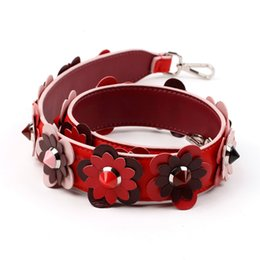 $enCountryForm.capitalKeyWord UK - Joyir New 2018 Interchangeable Fashion Classic Genuine Leather Shoulder Strap Flower Stud Strap You Famous Brand Belts Bag
