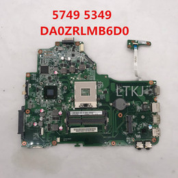 Motherboards For Aspire Laptops Australia - For Aspire 5349 5749 Laptop motherboard DA0ZRLMB6D0 HM65 GMA HD3000 DDR3 100% full Tested