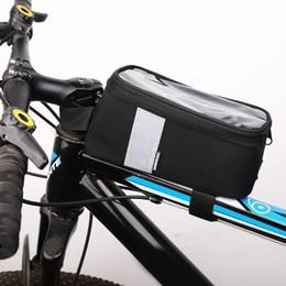$enCountryForm.capitalKeyWord Australia - Waterproof Bike Bag Nonwoven Eva Touch Screen Frame Front Head Top Tube Cycling Bag Bike Rear Bicycle Cycling Equipment