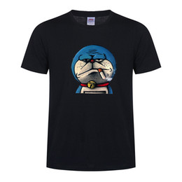 $enCountryForm.capitalKeyWord Australia - 90s Harajuku Vintage Robot Cat vogue Print Doraemon t shirt men Loose cotton Short Sleeve gothic Tops graphic Tees