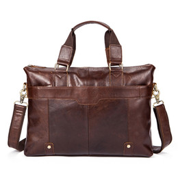 "$enCountryForm.capitalKeyWord Australia - male messenger bag men genuine leather briefcase man Casual bag for 14"" laptop man's handbag shoulder messenger bags Briefcase #43051"