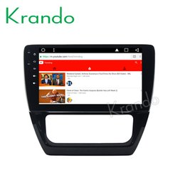 "Vw Stereos Android Australia - Krando Android 8.1 10.1"" IPS Full touch car dvd Multmedia player for VW SAGITAR 2013 audio player gps navigation system wifi"