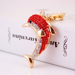 $enCountryForm.capitalKeyWord NZ - MH jewelry creative fashion new car ornaments key chain smart little dolphin key chain bag pendant