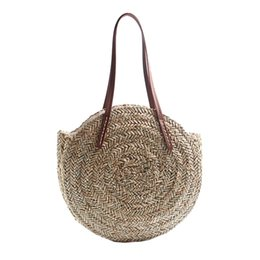 $enCountryForm.capitalKeyWord UK - ABDB-Women Bohemia Wind Beach Circle Round Rattan Straw Summer Travel Shoulder Bags #210738
