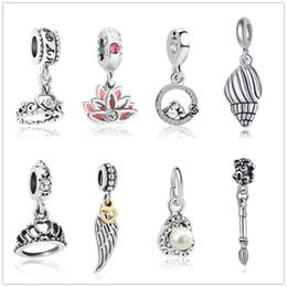 Blue Bird Bracelet online shopping - 2019 Christmas new fashion my princess Love bird pendant fit Pandora charms silver women s bead bracelet for jewelry making