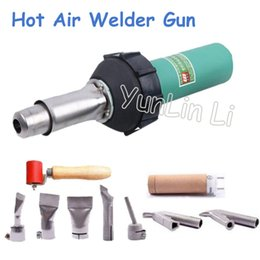 1600 W soldador de aire caliente pistola 110 V/220 V de plástico de la antorcha de soldadura de aire caliente de la máquina de soldadura de plástico soldador pistola LST1600 en venta