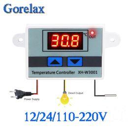 $enCountryForm.capitalKeyWord NZ - Digital Thermostat Temperature Regulator Controller 12V 24V 110V 220V Thermoregulator, Thermostat Incubator Termometro XH-W3001