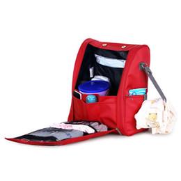 Backpack Stroller UK - Baby Diaper bags Backpacks Mummy Bag Waterproof Backpack Baby Maternity Bag for Stroller Accessory Nappy