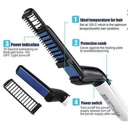 $enCountryForm.capitalKeyWord Australia - Multifunctional Hair Comb Personal Care Men and Women Hair Styling Comb Roll Straight Dual-Use Comb Fast Haircut