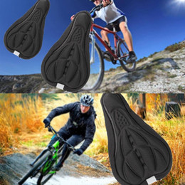 soft gel bike seats UK - Cycling Bike Bicycle 3D Sponge Saddle Seat Cover Gel Cushion Soft Comfort Pad Breathable bike seat Cushion