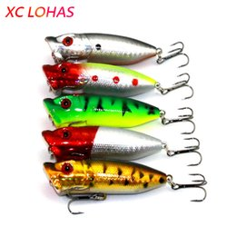 $enCountryForm.capitalKeyWord Australia - tackle 6.5cm 12g Topwater Floating Popper Lure Hard Plastic Poper Lures 3d Fish Eye Laser Artificial Bait Fishing Tackle PO030