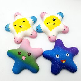 $enCountryForm.capitalKeyWord NZ - Squishy Star Squishies Slow Rising Soft Squeeze Cute Cell Phone Strap Gift Stress Kids Toys Decompression Toy Novelty Items CCA11802 150pcs