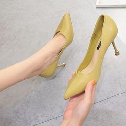 $enCountryForm.capitalKeyWord Australia - Hot2019 Shoes High-heeled Black Women's Occupation Fine With Autumn Joker Sexy Patent Leather Work Shoe