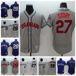 New chat online shopping - NEW Jersey Colorado Mens Trevor Story Nolan Arenado mlb Rockies Baseball Jerseys Customized chats with me in private