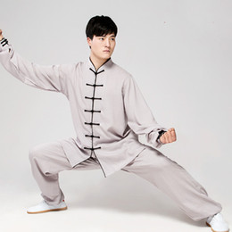 1de80a906 Tai Chi Uniform High Quality Wushu Kung Fu Clothing Women Men Chinese  Traditional Suit Adults Martial Arts Oriental Clothes
