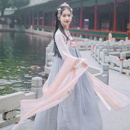$enCountryForm.capitalKeyWord NZ - New Arrival Women Chinese Traditional Hanfu Costume Ancient Tang Dynasty Cosplay Clothes Lady Oriental Fairy Dancwear DWY1919