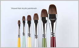 Brush Paintings Australia - Factory Direct High Quality Professional Arts and Craft Acrylic Paint Brush Wholesale Price X3-602 OEM service allow Oil Brushes