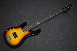 left handed basses NZ - Factory Custom Left Handed Tobacco Sunburst Electric Bass Guitar with 4 Strings,24 Frets,Chrome Hardware,High Quality,Can be Customized