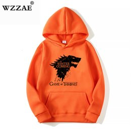 Hip Hop sweatsHirts for men online shopping - 2019 Trendy Faces Game of Thrones Hooded Mens Hoodies and Sweatshirts Oversized for Autumn with Hip Hop Winter Hoodies Men Brand SH190918